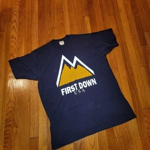Vintage Early 90s First Down USA Tee